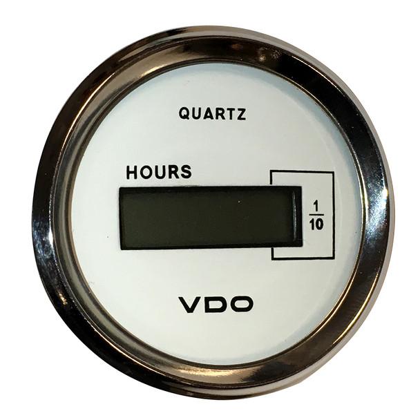 VDO Allentare White DC Hourmeter LCD Gauge - 52mm - 10-32V [331-548]