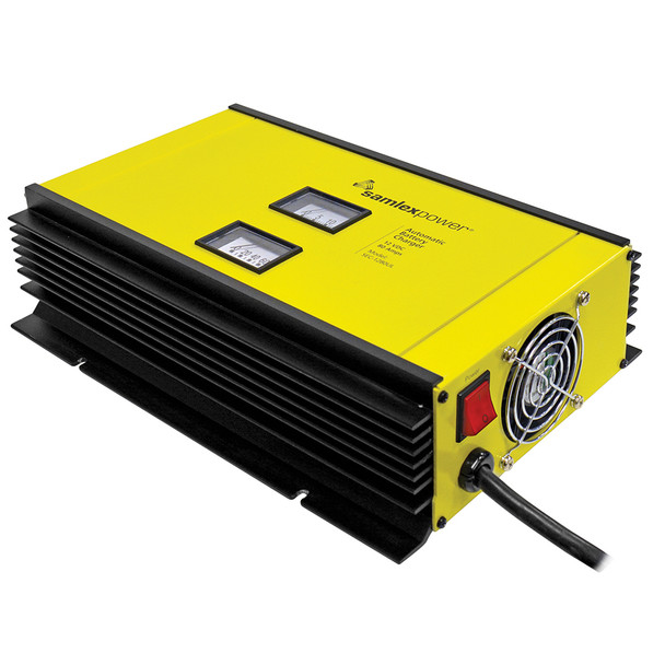 Samlex 80A Battery Charger - 12V - 2-Bank - 3-Stage w\/Dip Switch  Lugs - Includes Temp Sensor [SEC-1280UL]