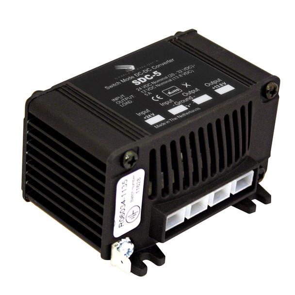 Samlex 5A Non-Isolated Step-Down 24VDC-12VDC Converter [SDC-5]