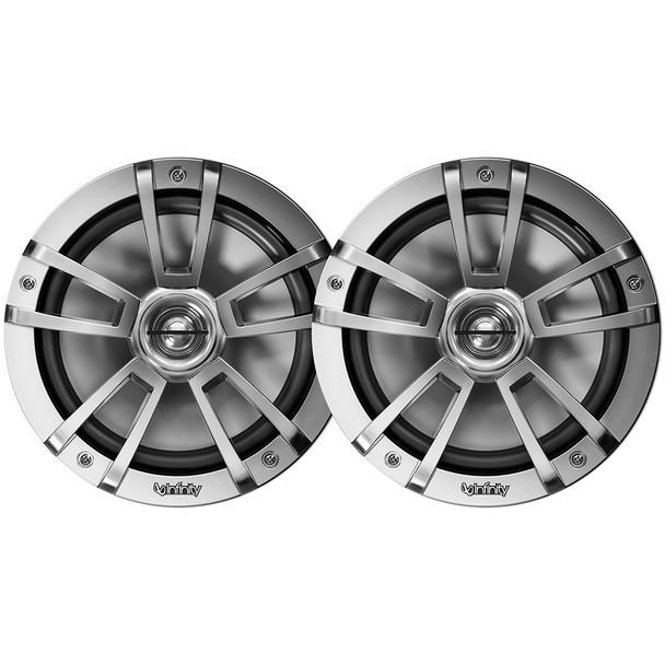 """Infinity 822MLT 8"""" 2-Way Multi-Element Marine Speakers - Titanium [INF822MLT]"""