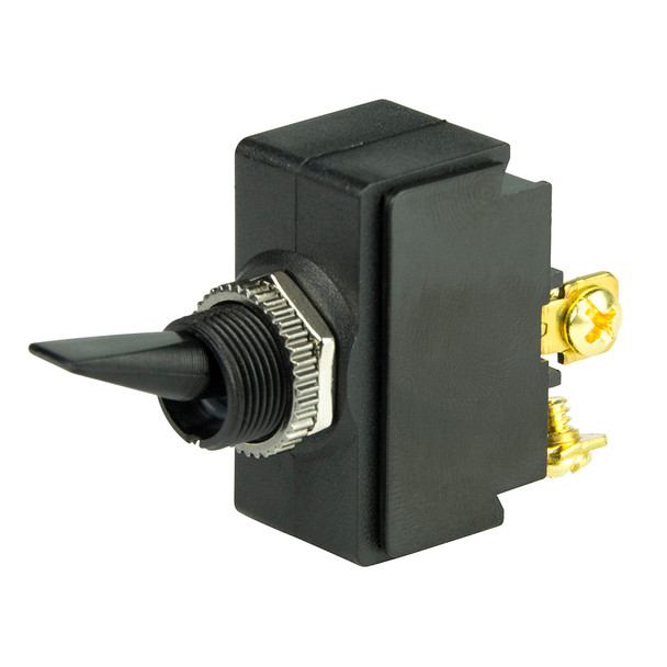 BEP SPST Nylon Toggle Switch - 12V - #6-32 Terminal - ON\/OFF [1001902]