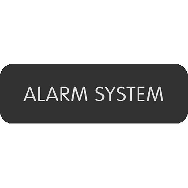 """Blue Sea Large Format Label - """"Alarm System"""" [8063-0032]"""