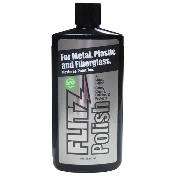 Flitz Polish - 16oz Liquid Bottle - *Case of 6* [LQ 04506CASE]