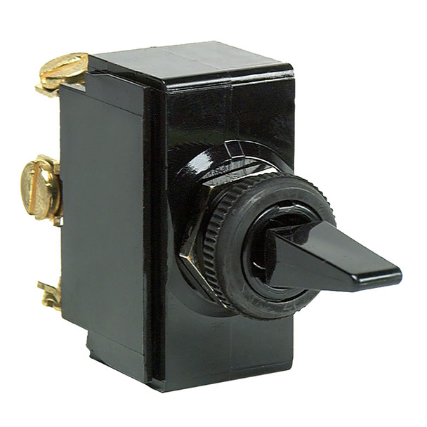 Cole Hersee Standard Toggle Switch SPDT (On)-Off-(On) 3 Screw [54104-BP]