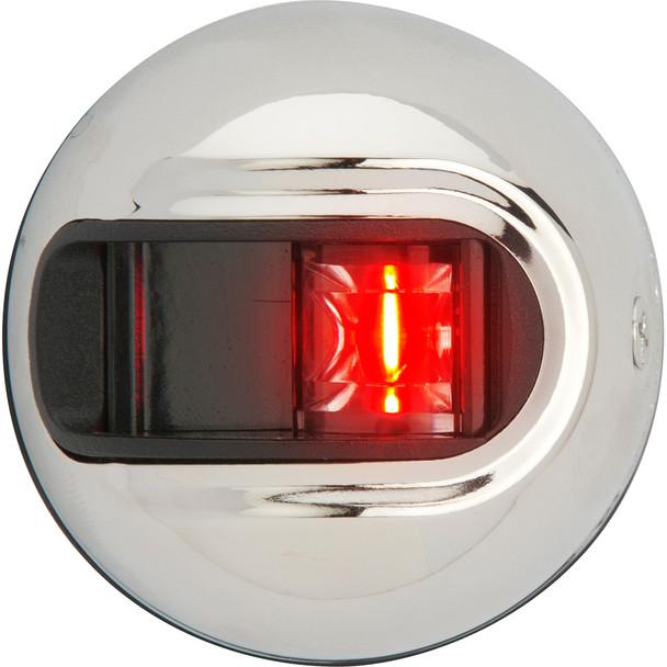 Attwood LightArmor Vertical Surface Mount Navigation Light - Port (red) - Stainless Steel - 2NM [NV3012SSR-7]