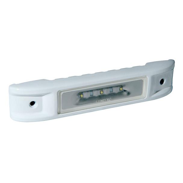 Lumitec Ibiza LED Engine Room Light - Non-Dimming White - White Finish [101520]