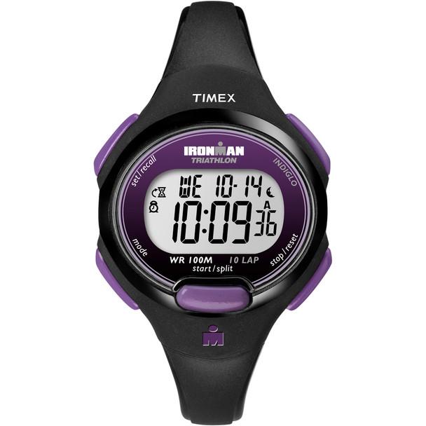 Timex IRONMAN 10-Lap Watch - Mid-Size - Purple\/Black [T5K523JV]