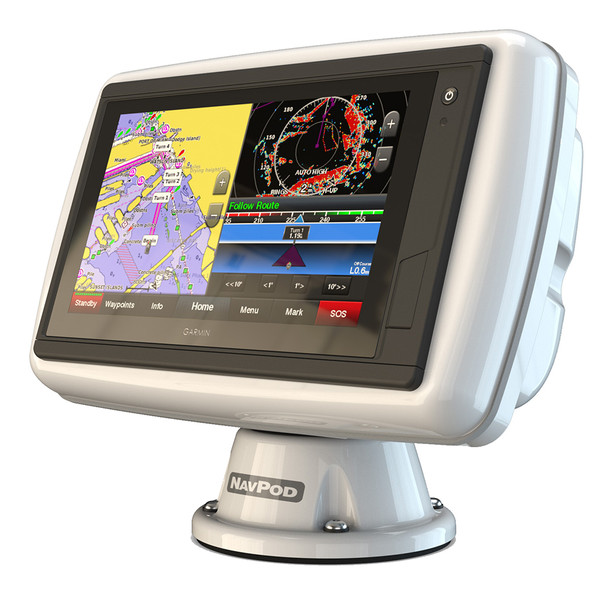 NavPod PowerPod Pre-Cut f\/Garmin GPSMAP 942xs, 942, 922xs  922 [PP4500-08]