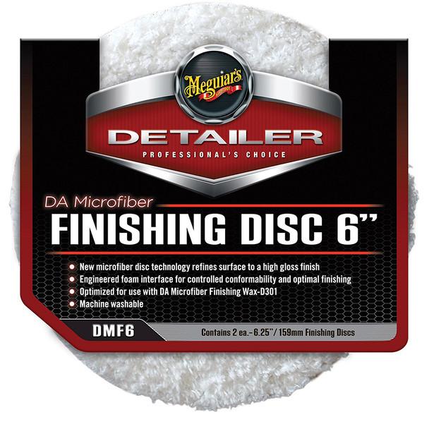 "Meguiars DA Microfiber Finishing Disc - 6"" - 2-Pack [DMF6]"