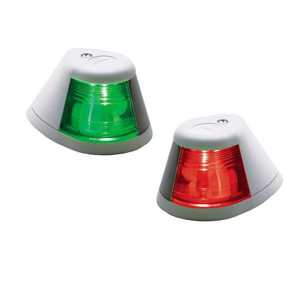 Perko 12V Side Lights - Pair - Horizontal Mount - White [0253W00DP1]