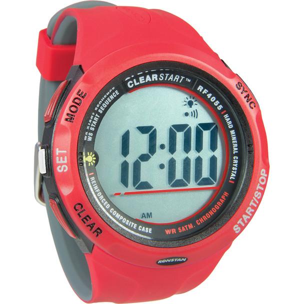 Ronstan RF4055 ClearStart 50mm Sailing Watch - Red\/Grey [RF4055]