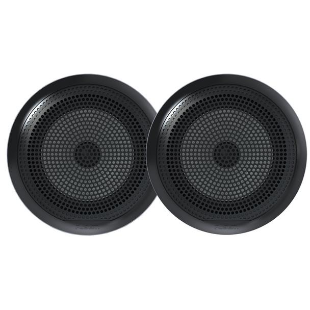 """FUSION EL-F651B EL Series Full Range Shallow Mount Marine Black Speakers - 6.5"""" [010-02080-10]"""