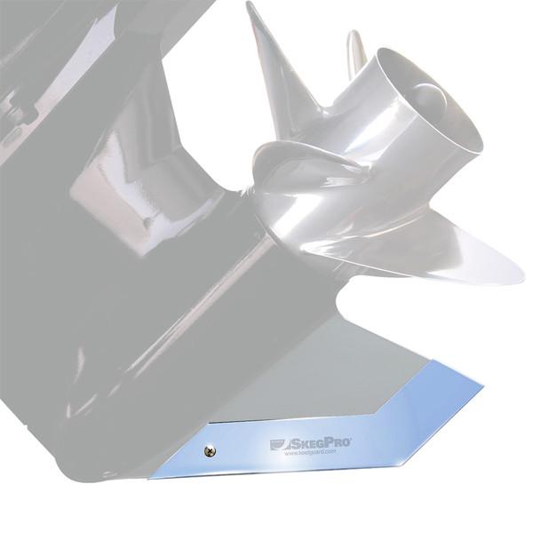 Megaware SkegPro - Stainless Steel - Evinrude 75, 90 hp E-Tec 2005-2008, Evinrude\/Johnson 120,130 hp 1985-2002, Johnson 90, 115, 120, 150, 175 hp 2003-2007 V4 Stingray  Suzuki 300 hp 2007-up [02657]