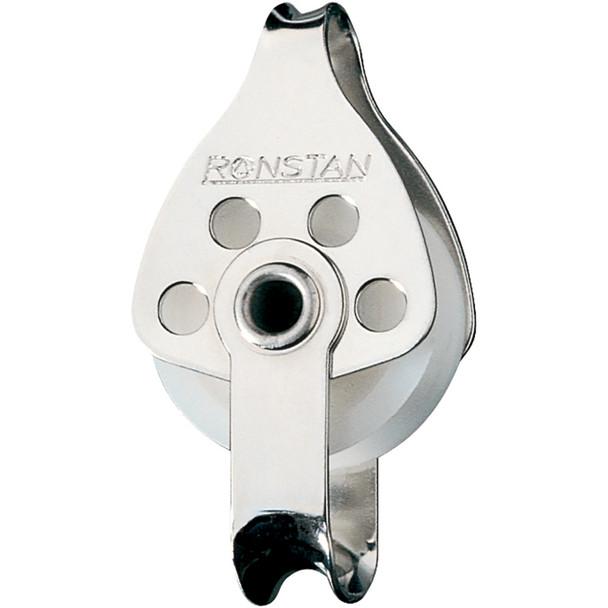 Ronstan Series 30 Utility Block - Single, Becket, Loop Head [RF681]