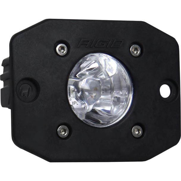 Rigid Industries Ignite Flush Mount Spot - Single - Black [20611]