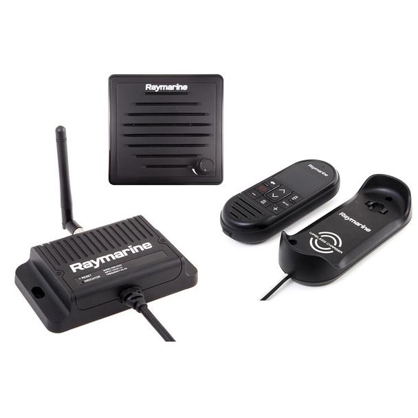 Raymarine Ray90 Wireless Second Station Kit with Passive Speaker, Wireless Handset  Wireless Hub [T70433]