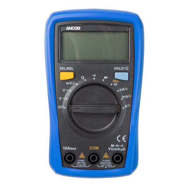 Ancor 8 Function Digital Multimeter [703072]