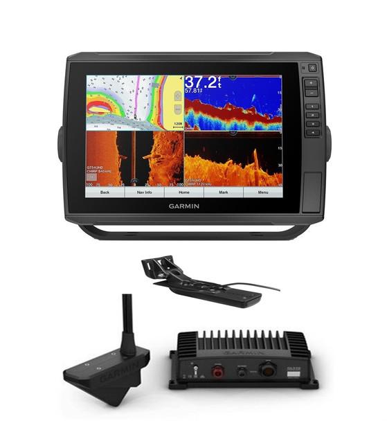 Garmin Panoptix Livescope LVS32 System with Echomap Ultra 106sv & Gt56 UHD