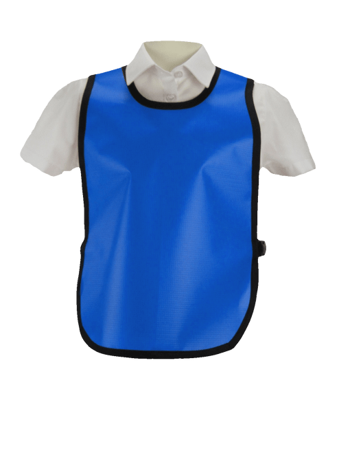 5-7 years PVC Tabards in Blue (13 x units)