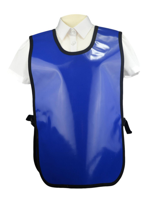 8-10 Years PVC Tabards in Blue (17 x Units)
