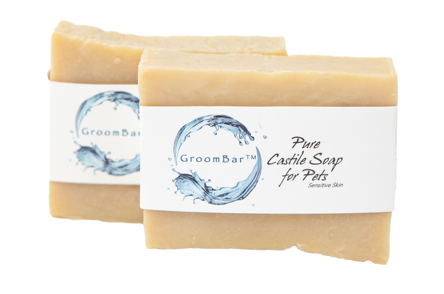 GroomBar® simple castile soap for pets from Afina
