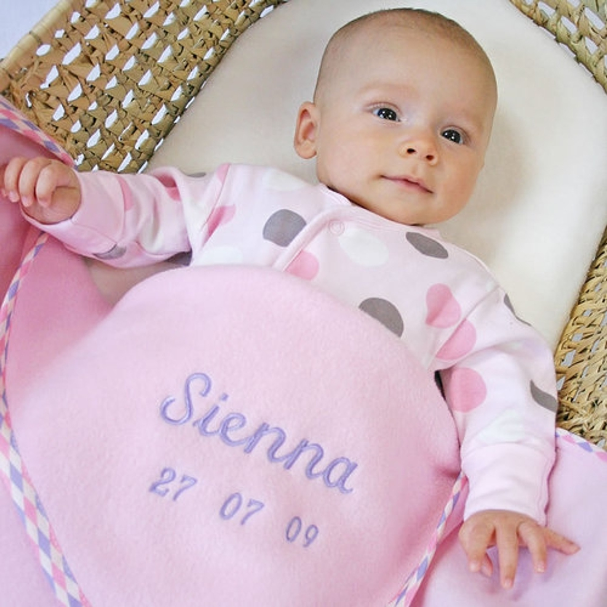 Personalised New Baby Girl Gifts