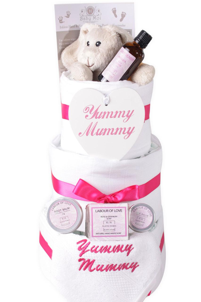 3 Tier Yummy Mummy Nappy Cake