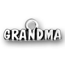Grandma Gifts Sterling Silver Bracelet Charm