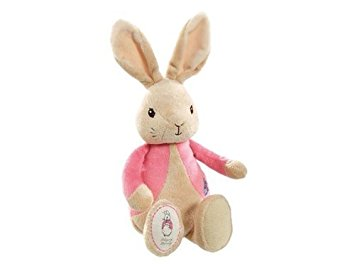3 Tier Flopsy Bunny Nappy Cake Hello Little Baby Girl