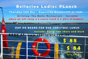 Bellarine Ladies @ Lunch - Christmas in Sorrento (SOLD OUT)