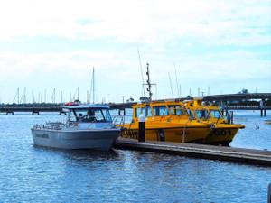 Coastguard boats in the Harbour (Queenscliff)