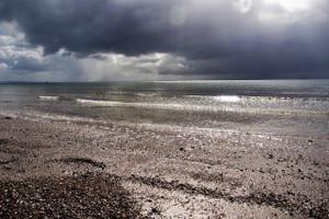 Storm approaching Main Beach (Ocean Grove)