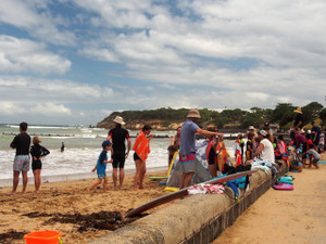 Families enjoying the start of summer (Pt Lonsdale)