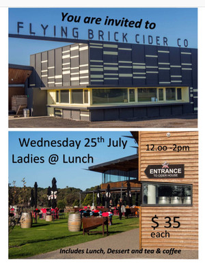 Ladies @ Lunch - No.2  Flying Brick Cider 269 Bellarine Highway Wallington  Vic   3222