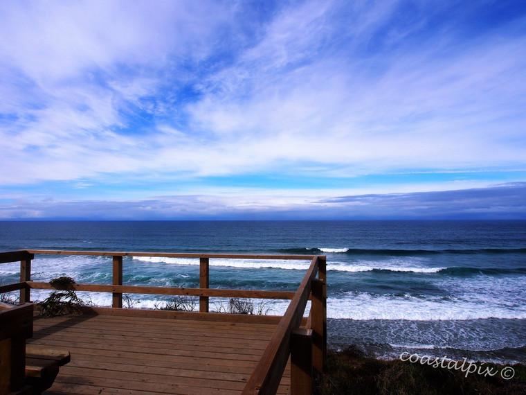 Ocean view from 13thBeach lookout (BarwonHeads)