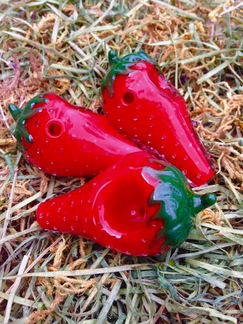 Strawberry Glass Pipe