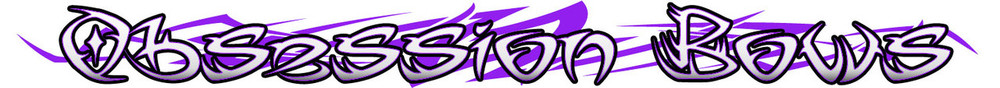 Decals-Obsession Bow Logo limb decal