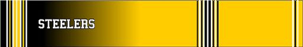 Arrow Wraps-Steelers fade