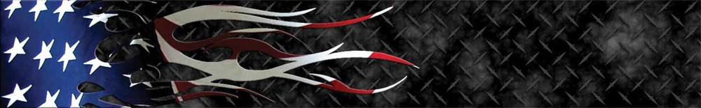 Arrow Wraps-American Flag Flame-8