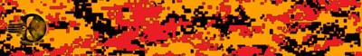 Punisher DigiCamo Flo Orange