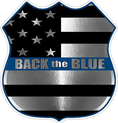 Decal-Back the Blue 2017-6