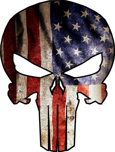 Decal-American Punisher