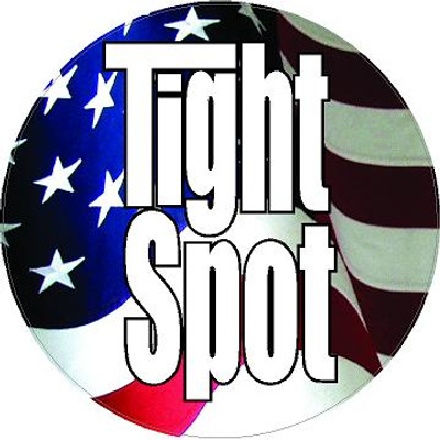 Decal-Tight Spot-10 flag
