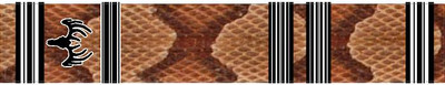Arrow Wraps-Copperhead Crested (black and white)