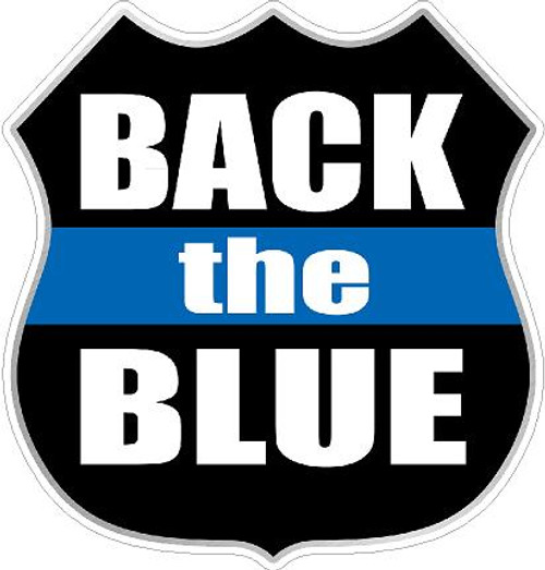 Decal-Back the Blue 2017-4