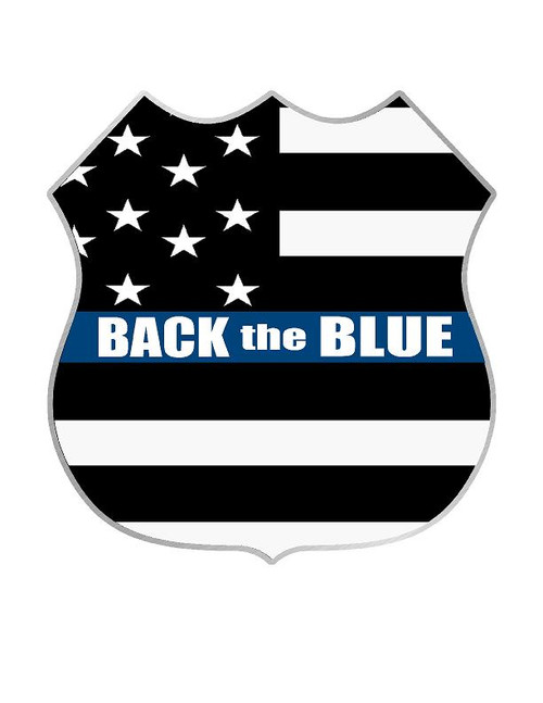 Decal-Back the Blue 2017-5