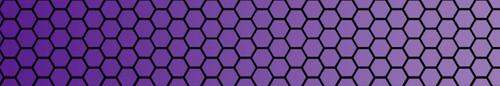 Stabilizer Wrap-Honeycomb-purple fade