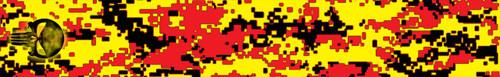 FLO-Punisher Digital Camo-13 (red on flo yellow)