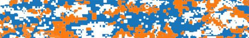 Arrow Wraps-Digital Camo Blue Orange