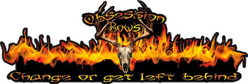 Obsession Bows-Decal 2020 truck small